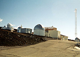 Weather observatory on north slope of Mauna Loa