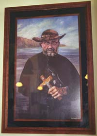 Portrait of Father Damien