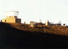 Observatory complex atop Haleakala