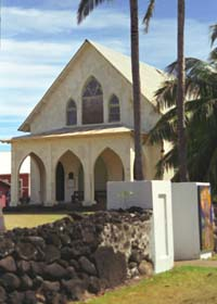 St. Francis Church in Kalaupapa