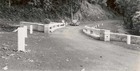 Wailua Bridge back in 1948